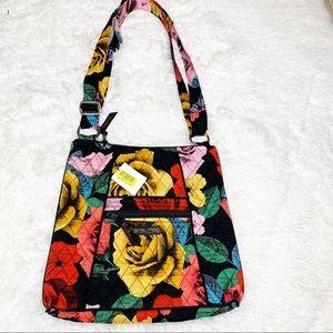 Vera Bradley adjustable strap crossbody purse
